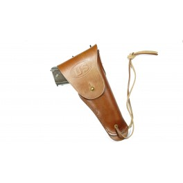 Etui cuir Colt 45 couleur marron ref MIL