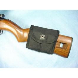 Porte chargeur cordura noir pour carabine USMI Ref B10