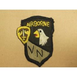 Patch 101 st Airborne Vietnam réf 26 Brodé main