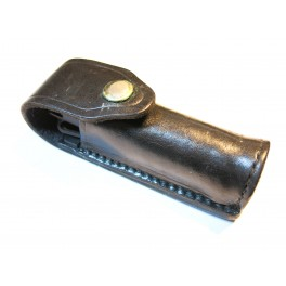 Etui cuir Porte bombe CS lacrymogene fabrication Smith et Wesson