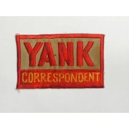 Patch  tissu YANK CORRESPONDENT