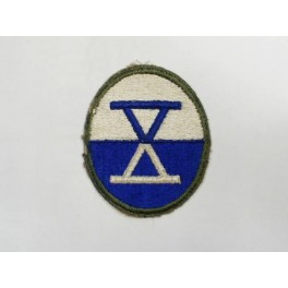 Patch 10th  Army Corps