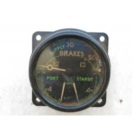 Indicateur de pression avion Anglais 39/45 ref In 96