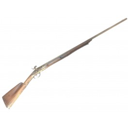 Fusil ancien a percussion a chien ref  BR 546 categorie D