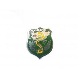 Petit insigne metal CSDG ARVN Vietnam ref bo 7
