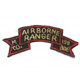 Tab Inf Airborne Ranger 199 BDE  US Vietnam