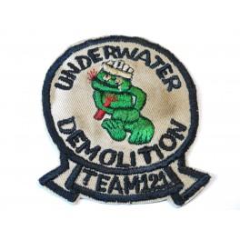 Insigne tissu Navy underwater demolition team 12  ref bo 128