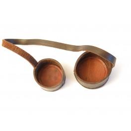 Bonnette de lunette cuir ref bab196