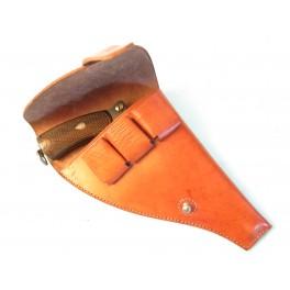 Etui cuir pour revolver 1892 couleur fauve ref bab19