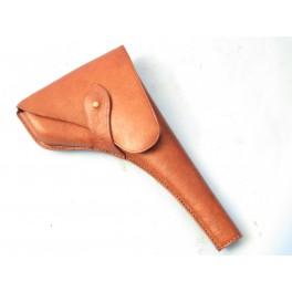 Etui cuir pistolet Astra 400 ou 600 couleur marron