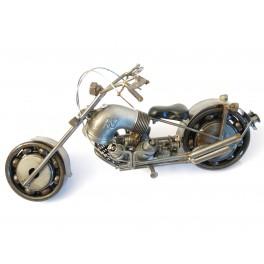 Miniature metal moto