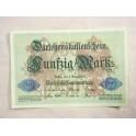 Billet de 50 Mark 1914