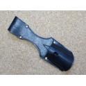 Porte baionnete cuir Gew 98 noir