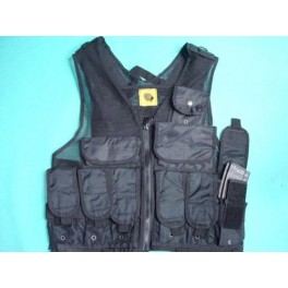 Gilet tactical nylon ref  545