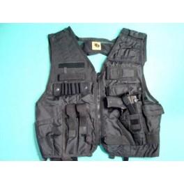 Gilet tactical nylon ref 546