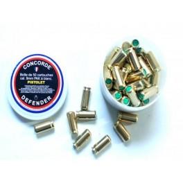Boite de 50 cartouches 9 mm PAK ref MD015