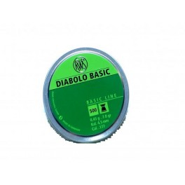 Boite de 500 plomb diabolo 4.5 Basic ref PB410